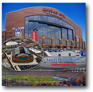 Lucas Oil Stadium Print - Home of the Indianapolis Colts