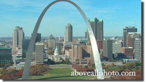 St Louis Missouri Stock Aerial Video and Demo Reel